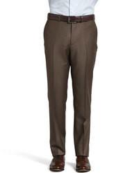 Pantalones en marrón oscuro