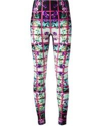 Pantalones en multicolor