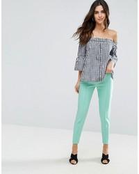 Comprar Unos Pantalones En Verde Menta Louche Lookastic Espana