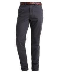 Pantalones Gris Oscuro de Jack & Jones