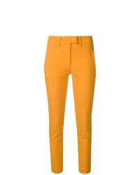 Pantalones pitillo amarillos de Dondup