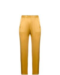 Pantalones pitillo amarillos de Forte Forte