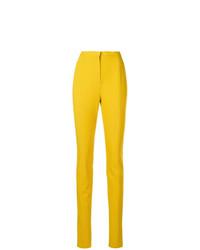 Pantalones pitillo amarillos de Lanvin
