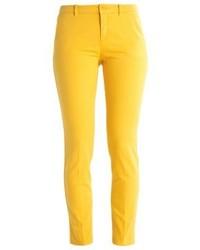 Pantalones pitillo amarillos de Max Mara