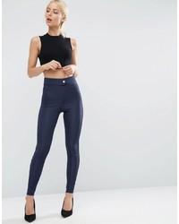 Pantalones Pitillo Azul Marino de Asos
