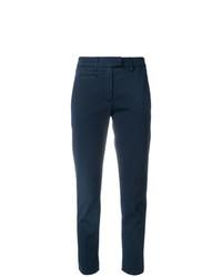 Pantalones pitillo azul marino de Dondup