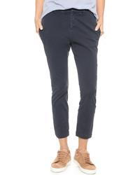 Pantalones Pitillo Azul Marino de Nili Lotan