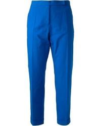Pantalones pitillo azules