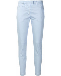 Pantalones pitillo celestes de Dondup