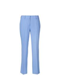Pantalones pitillo celestes de Ermanno Scervino