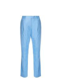 Pantalones pitillo celestes de Moschino Vintage
