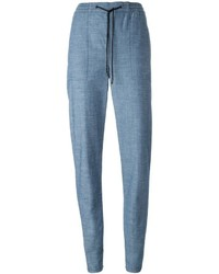 Pantalones pitillo celestes de Proenza Schouler