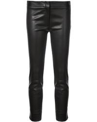 Pantalones pitillo de cuero negros de Derek Lam