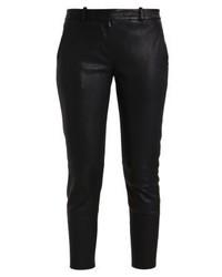 Pantalones pitillo de cuero negros de Fiveunits