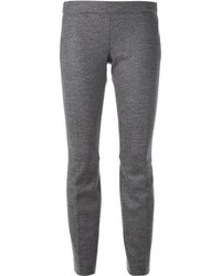 Pantalones pitillo de lana grises de Dsquared2