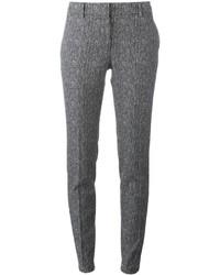 Pantalones pitillo de lana grises de Incotex