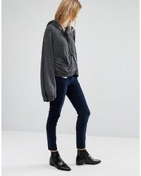 Pantalones pitillo de pana azul marino de Vero Moda