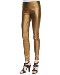Pantalones pitillo dorados original 4263767