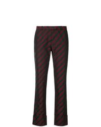 Pantalones pitillo en multicolor de Romeo Gigli Vintage