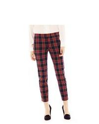 Pantalones pitillo en rojo y azul marino original 9726418