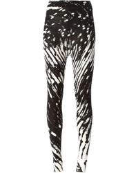 Pantalones pitillo estampados en blanco y negro de Henrik Vibskov