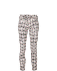 Pantalones pitillo estampados en multicolor de Dondup