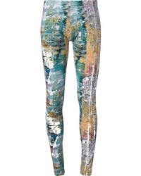 Pantalones pitillo estampados en multicolor de Jet Set