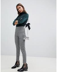 Pantalones pitillo grises de B.young