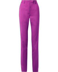 Pantalones pitillo morado