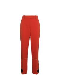 Pantalones pitillo naranjas de Calvin Klein 205W39nyc