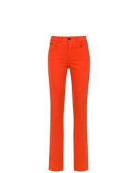 Pantalones pitillo naranjas de Tufi Duek