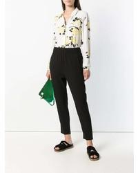 Pantalones pitillo negros de Ganni