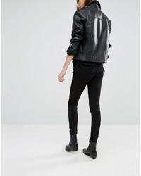 Pantalones pitillo negros de Blank NYC