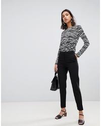 Pantalones pitillo negros de Warehouse