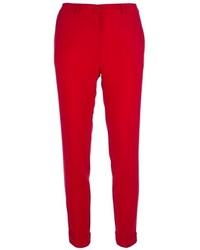 Pantalones pitillo rojos original 4261277