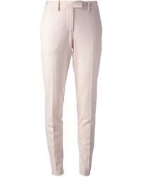 Pantalones pitillo rosados