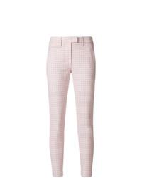 Pantalones pitillo rosados de Dondup