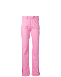 Pantalones pitillo rosados de MSGM