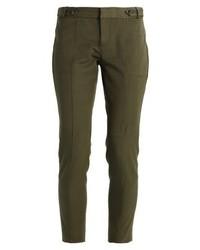 Pantalones pitillo verde oliva de Banana Republic