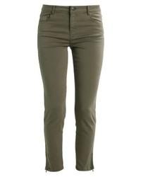 Pantalones pitillo verde oliva de Soyaconcept
