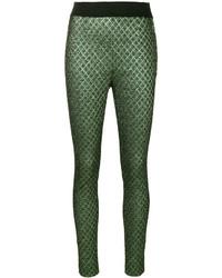Pantalones pitillo verde oscuro de Dolce & Gabbana