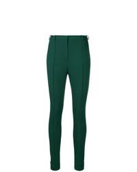 Pantalones pitillo verde oscuro de Lanvin