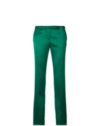 Pantalones pitillo verdes de Giorgio Armani Vintage