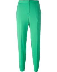 Pantalones pitillo verdes