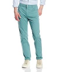 Pantalones Turquesa de Hackett London