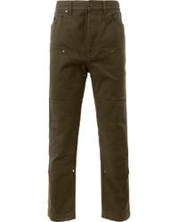 Pantalones vaqueros verde oliva de Lanvin