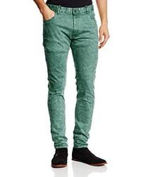 Pantalones Verde Menta de SPRINGFIELD