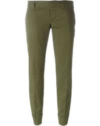 Pantalones verde oliva de Dsquared2
