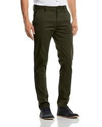 Pantalones verde oliva de Minimum
