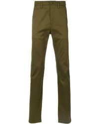 Pantalones verde oliva de Saint Laurent